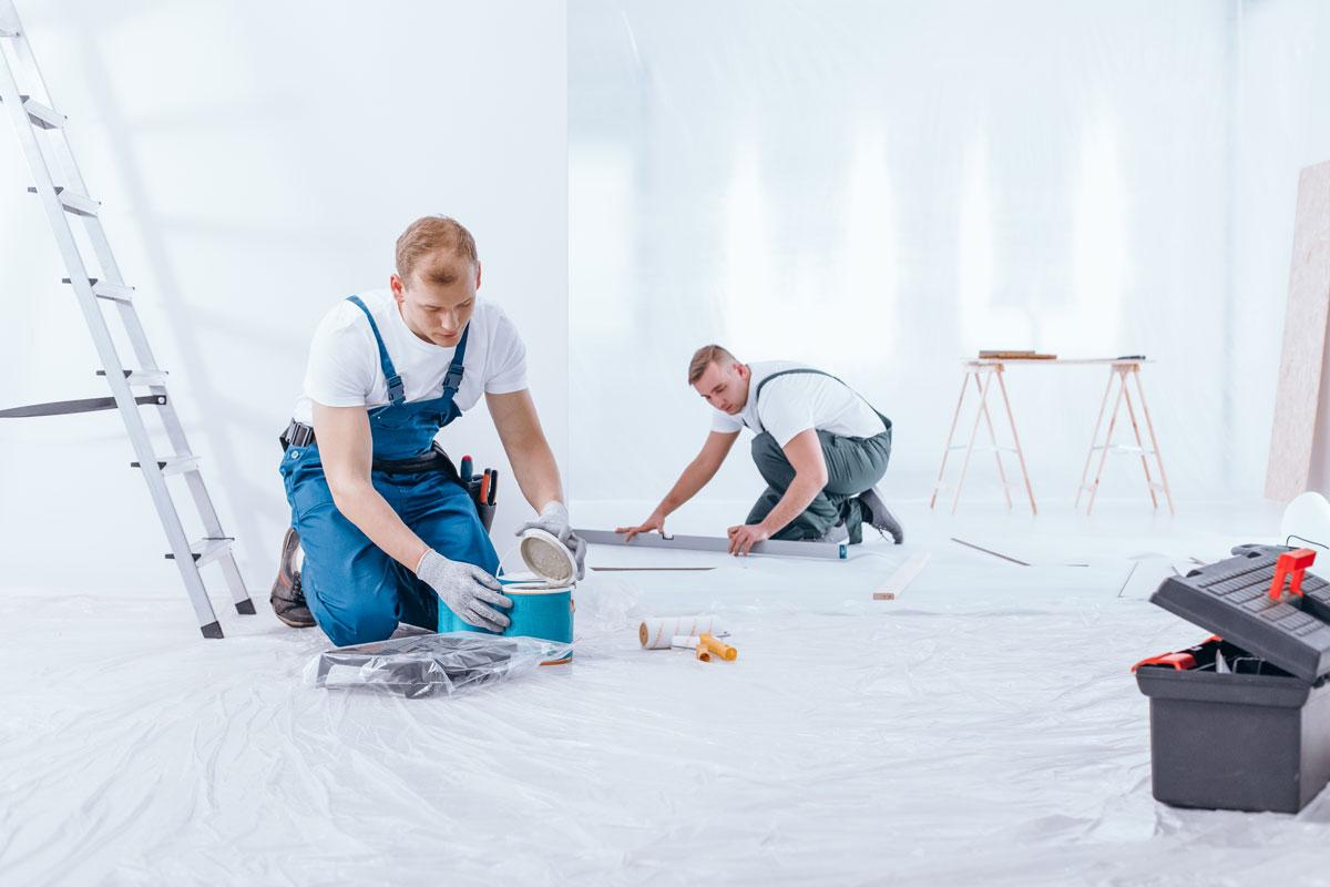 Komhembygg Måleri Invändig och utvändig målning i Stockholm Jakobsberg Järfälla